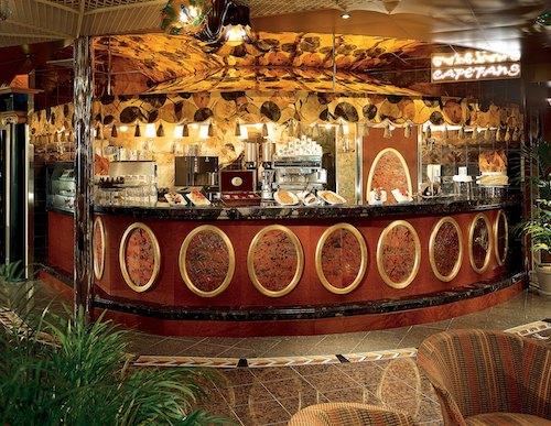 Carnival Conquest Coffee Bar