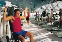 Carnival Glory Gym, Workout Room, Jogging Track, Yoga ...
